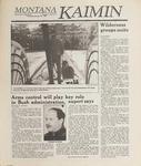 Montana Kaimin, January 19, 1989