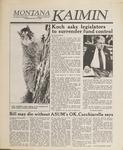 Montana Kaimin, January 24, 1989