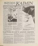 Montana Kaimin, January 26, 1989