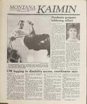 Montana Kaimin, January 31, 1989