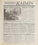 Montana Kaimin, February 7, 1989