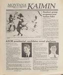 Montana Kaimin, February 14, 1989