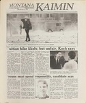 Montana Kaimin, February 17, 1989