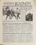 Montana Kaimin, February 22, 1989