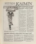 Montana Kaimin, March 1, 1989