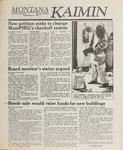 Montana Kaimin, March 7, 1989