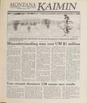 Montana Kaimin, March 8, 1989