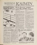 Montana Kaimin, March 29, 1989