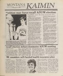 Montana Kaimin, March 30, 1989