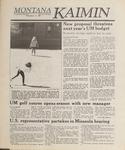 Montana Kaimin, March 31, 1989