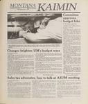 Montana Kaimin, April 5, 1989