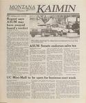 Montana Kaimin, April 6, 1989