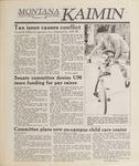 Montana Kaimin, April 7, 1989