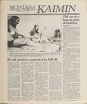 Montana Kaimin, April 12, 1989