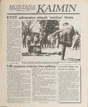 Montana Kaimin, April 19, 1989