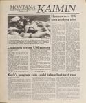Montana Kaimin, April 21, 1989