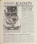 Montana Kaimin, April 26, 1989