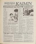 Montana Kaimin, April 27, 1989