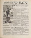 Montana Kaimin, April 28, 1989