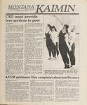 Montana Kaimin, May 2, 1989