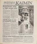 Montana Kaimin, May 3, 1989