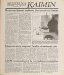 Montana Kaimin, May 11, 1989