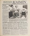 Montana Kaimin, May 12, 1989