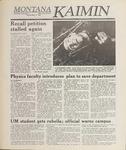 Montana Kaimin, May 16, 1989
