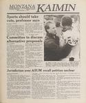 Montana Kaimin, May 17, 1989