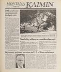Montana Kaimin, May 19, 1989