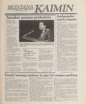 Montana Kaimin, May 24, 1989