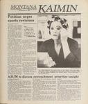 Montana Kaimin, May 25, 1989