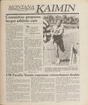 Montana Kaimin, May 26, 1989