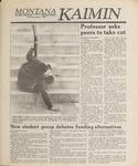 Montana Kaimin, May 31, 1989