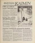 Montana Kaimin, June 1, 1989