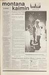 Montana Kaimin, September 27, 1989