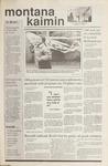 Montana Kaimin, October 3, 1989