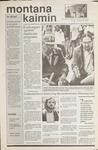 Montana Kaimin, October 13, 1989