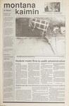 Montana Kaimin, October 25, 1989