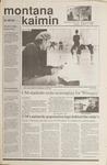 Montana Kaimin, October 31, 1989