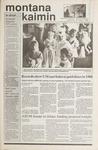 Montana Kaimin, November 1, 1989