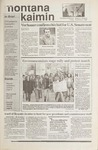 Montana Kaimin, November 3, 1989