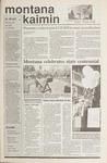 Montana Kaimin, November 9, 1989