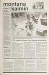 Montana Kaimin, November 15, 1989