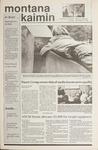 Montana Kaimin, November 16, 1989