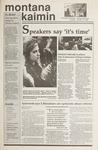 Montana Kaimin, January 16, 1990