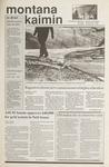 Montana Kaimin, January 25, 1990