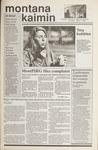 Montana Kaimin, March 1, 1990