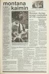 Montana Kaimin, May 18, 1990