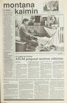 Montana Kaimin, May 22, 1990